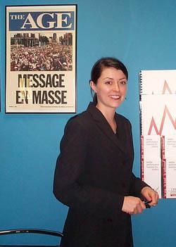 Michelle Edmunds, representative for CPR